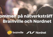 Nätverksträff med Brainville och Nordnet