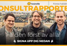 """Sign up for """"Konsultrapporten""""!"""