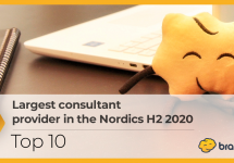 Largest consultant provider H2 2020 - Top 10