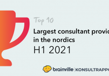 Top-10: Largest Consultant Providers in the Nordics H1 2021